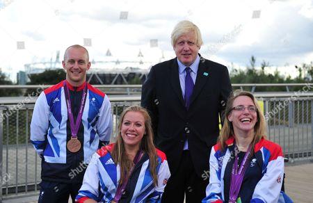 Boris Johnson, Ben Quilter, Hannah Cockroft, Sophie Christiansen