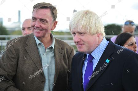 Sir Robin Andrew Wales Mayor of Newham, Boris Johnson