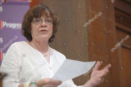 Fiona Mactaggart MP, spoke at 'Progress' run event