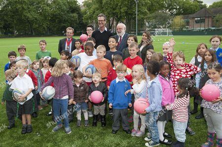 Rupert Everett, Frank Dobson and children