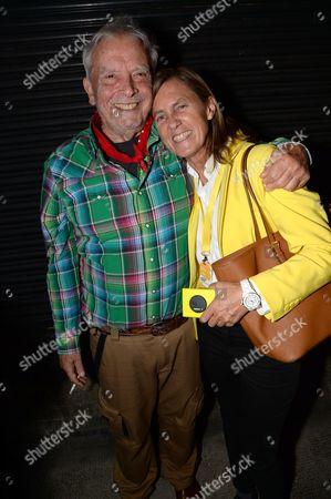 David Bailey and Marieta del Rivero, Head of Telefonica Global Marketing