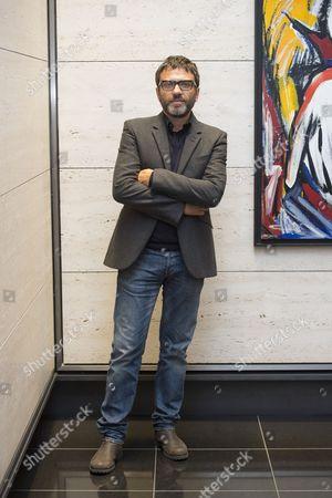 Editorial photo of Dario Ballantini art exhibition at Artmoorehouse, London, Britain - 12 Sep 2013