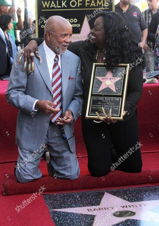 Berry Gordy and Glodean White