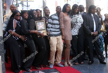 Editorial photo of Barry White Honored With Star On The Hollywood Walk Of Fame, Los Angeles, America - 11 Sep 2013