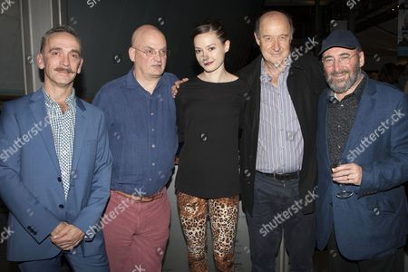Adrian Schiller, Terry Johnson, Lydia Wilson, David Horovitch and Antony Sher