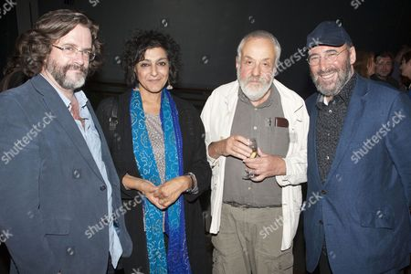Gregory Doran, Meera Syal, Mike Leigh and Antony Sher