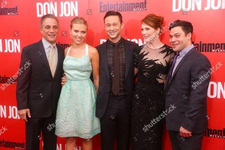 Tony Danza, Scarlett Johansson, Joseph Gordon-Levitt, Julianne Moore and Jeremy Luke