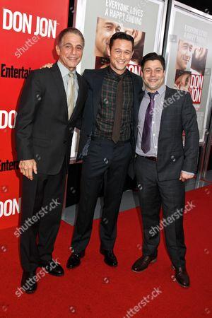 Stock Picture of Tony Danza, Joseph Gordon-Levitt and Jeremy Luke