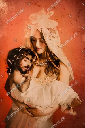 Alice Temperley in an artwork