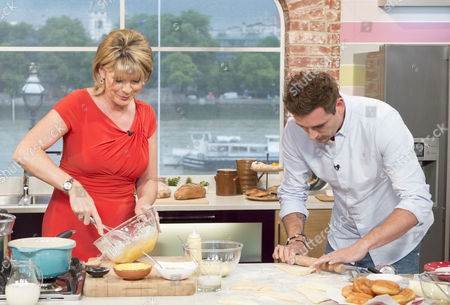 Ruth Langsford with Aaron Craze
