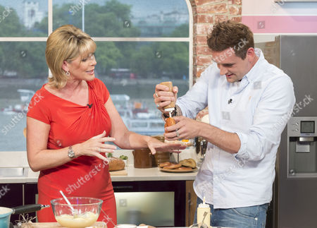 Stock Image of Ruth Langsford with Aaron Craze