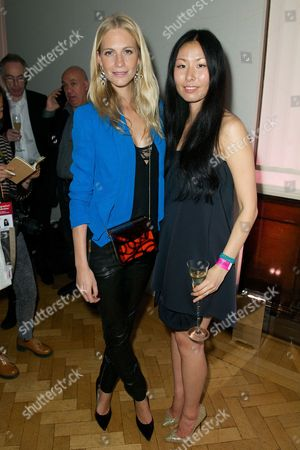 Poppy Delevingne and Ping He