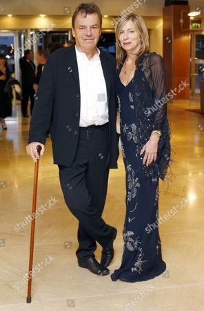 Stock Photo of Neil Jordan and his wife Brenda Rawn