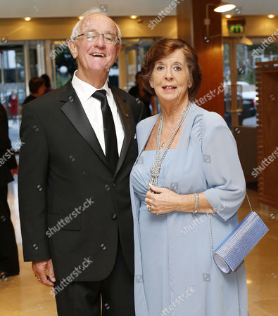 Frank Kelly and his wife Bairbre