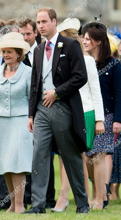 Editorial image of Wedding of James Meade to Lady Laura Marsham in Gayton, Norfolk, Britain - 14 Sep 2013