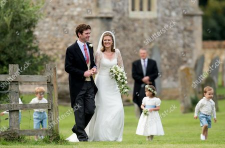 James Meade and Lady Laura Marsham