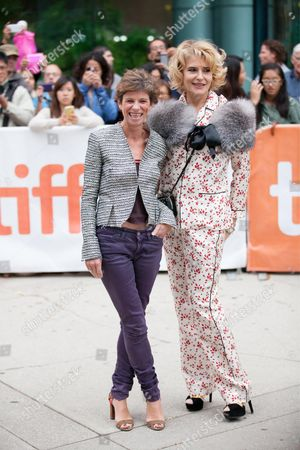 Marion Vernoux and Fanny Ardant