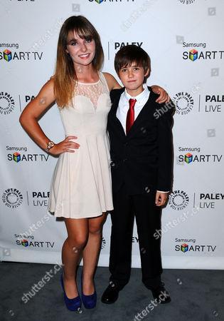 Christina Robinson and Preston Bailey