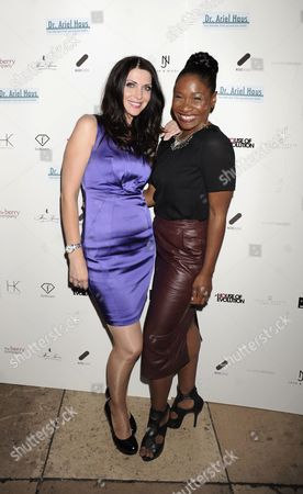 Stock Picture of Jules Wheeler and Karen Bryson