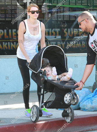 Editorial picture of Jack Osbourne and family out and about, Los Angeles, America - 15 Sep 2013
