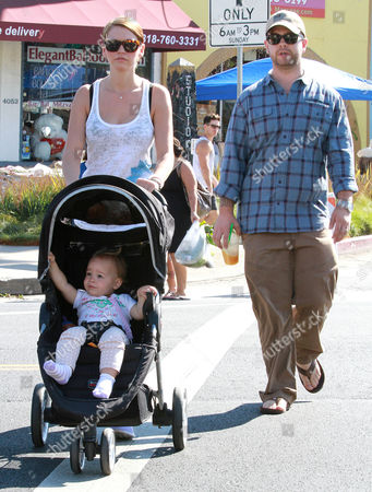 Editorial image of Jack Osbourne and family out and about, Los Angeles, America - 15 Sep 2013