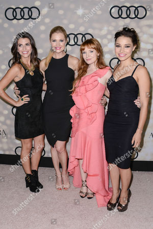 Bianca Haase, Katherine Bailess, Stef Dawson and Jessica Parker Kennedy