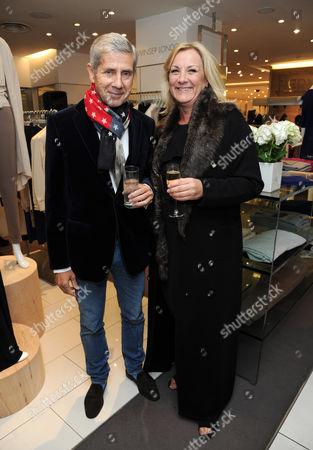 Sir Stuart Rose and Kim Winser
