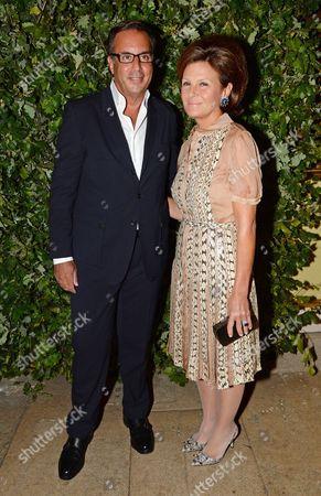 Harry Slatkin and wife