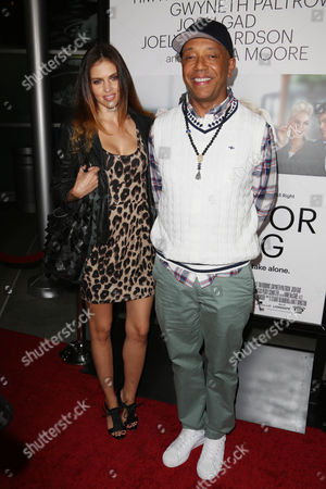 Hana Nitsche and Russell Simmons