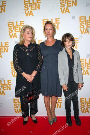 Catherine Deneuve, Emmanuelle Bercot and Nemo Schiffman