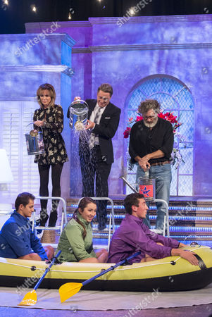 Amanda Holden, Alan Titchmarsh and Paul Michael Glaser