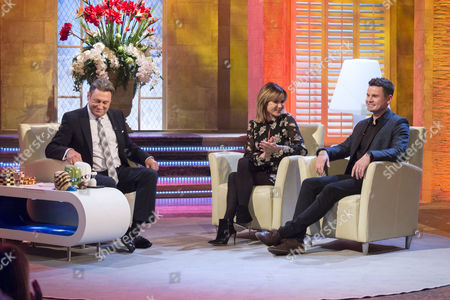Alan Titchmarsh with Amanda Holden and Wes Wood