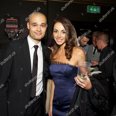 Sean Conlon of Five and Lindsay Armaou of B Witched