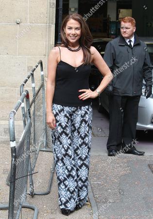 Editorial photo of Celebrities outside ITV studios, London, Britain - 17 Sep 2013