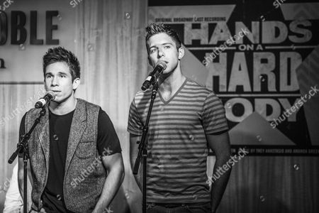 Editorial photo of Hands on a Hardbody cast celebrates album release, New York, America - 06 Sep 2013