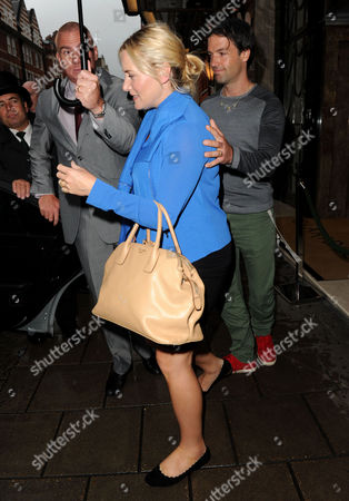 Editorial picture of Kate Winslet and Ned Rocknroll out and about, London, Britain - 17 Sep 2013