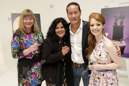 Nikki Cooper (commissioning executive), Ursela Darvill, Jun Tanaka and Brigitte Dewarmannl
