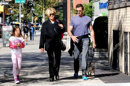 Ava Eliot Jackman, Hugh Jackman and Deborra-Lee Furness