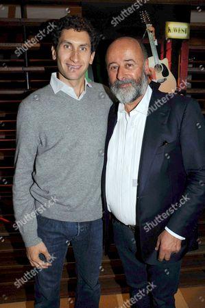 Stock Image of Karim Fayed and Richard Young