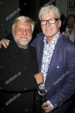 Simon Russell Beale and Richard Mawbey (Hair & Wig Designer)