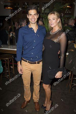 Stock Photo of Stefano Braschi (Demetrius) and Katherine Kingsley (Helena)