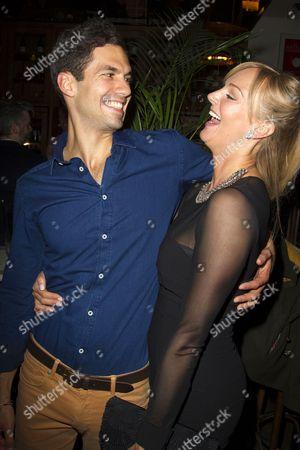 Stefano Braschi (Demetrius) and Katherine Kingsley (Helena)