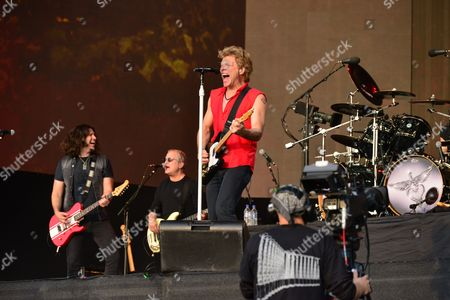 Editorial picture of Bon Jovi Live In Hyde Park