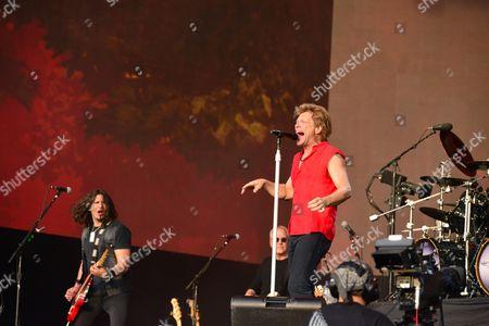 Dave Sabo Jon Bon Jovi