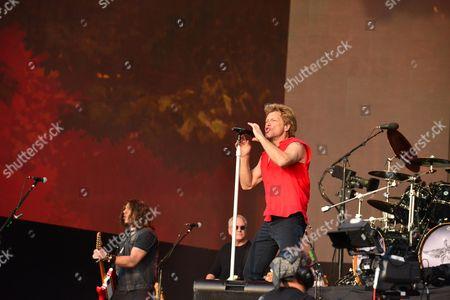 Editorial photo of Bon Jovi Live In Hyde Park