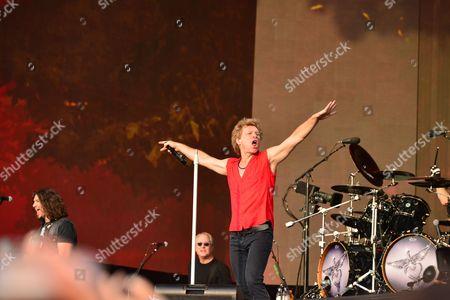 Editorial image of Bon Jovi Live In Hyde Park