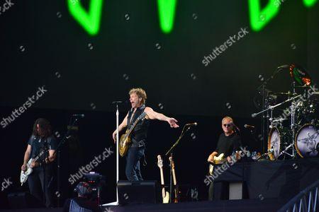 Stock Image of Dave Sabo Jon Bon Jovi Hugh Mcdonald