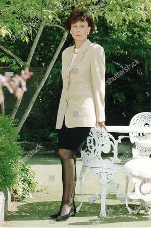 Jane Mckerron Authoress And Ex-wife Of Tv Presenter Brian Walden 1993.