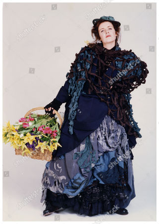 Helen Hobson Actress As Eliza Doolittle For Stage Musical My Fair Lady Manchester Opera House 1992.