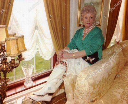 Editorial picture of Margaret Bennett The Estranged Wife Of Tv Presenter Lennie Bennett (not Shown) 1992.
